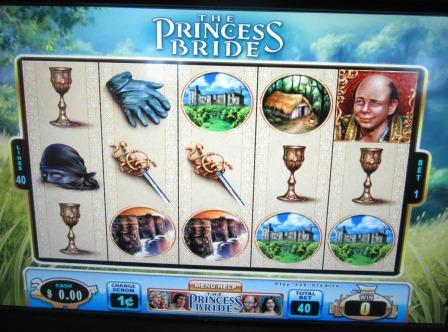 Princess bride slot machine locations igt super cherry slot machine